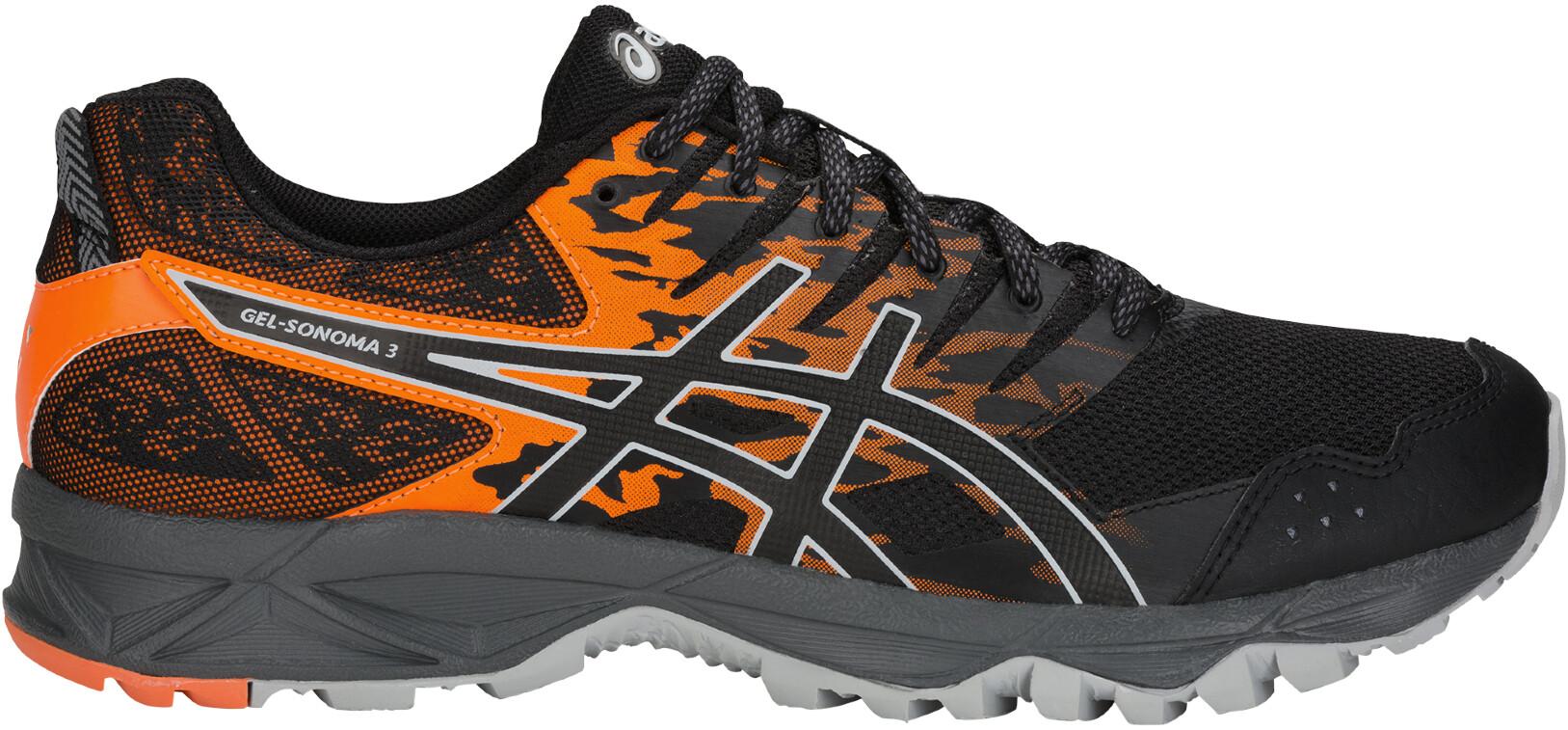 asics Gel-Sonoma 3 - Zapatillas running Hombre - naranja negro ... 7dd1534853df6